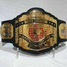 NWA North American Heavyweight Wrestling Championship Belt Adult Size 6mm Zinc Plates Replica