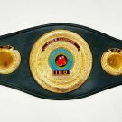 IBO Championship Replica Boxing Belt Cowhide Leather Strap Metal Plates