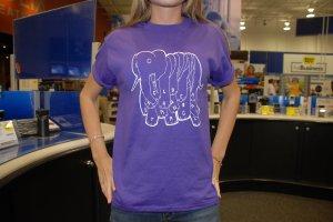 Purple Elephant T-shirt- CHS