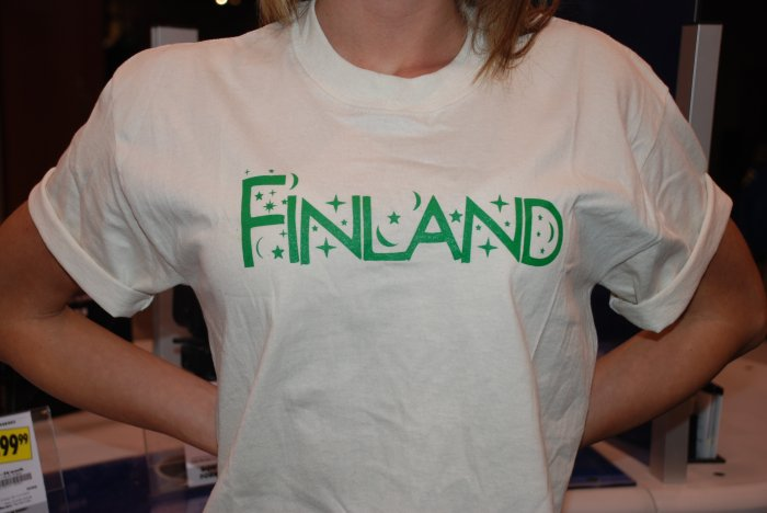 Finland- Starry Starry T Green