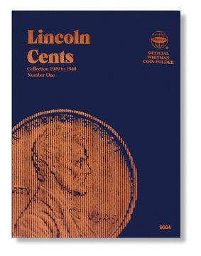 #9004 Whitman Folder for Lincoln Cents 1909-1940