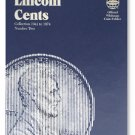 #9030 Whitman Folder for Lincoln Cents 1941-1974
