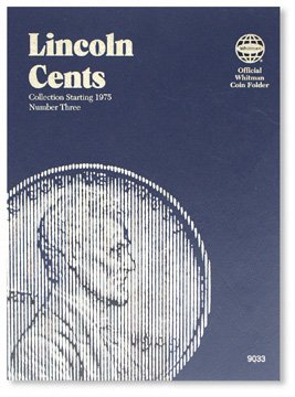 #9033 Whitman Folder for Lincoln Cents 1975-Date