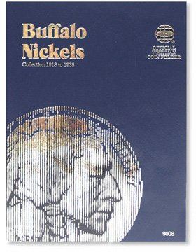 #9008 Whitman Folder for Buffalo Nickels