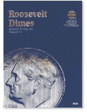 #9034 Whitman Folder for Roosevelt Dimes 1965-2004