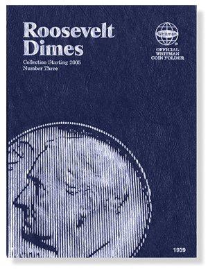 #9397 Whitman Folder for Roosevelt Dimes 2005-Date