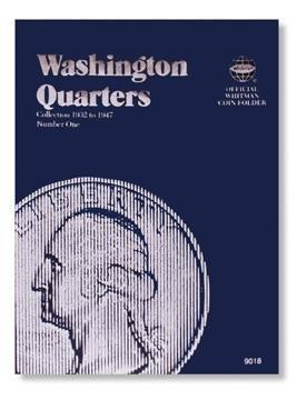 #9018 Whitman Folder for Washington Quarters 1932-1947