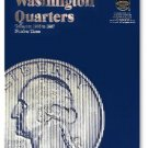 #9040 Whitman Folder for Washington Quarters 1965-1987