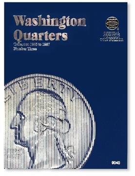 #9040 Whitman Folder for Washington Quarters 1965-1987