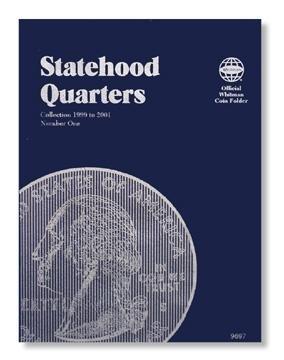 #9697 Whitman Folder for Statehood Quarters 1999-2001