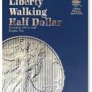 #9027 Whitman Folder for Walking Liberty Half Dollars 1937-1947