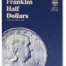 #9032 Whitman Folder for Franklin Half Dollars