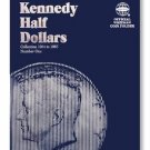 #9699 Whitman Folder for Kennedy Half Dollars 1964-1985