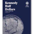 #9698 Whitman Folder for Kennedy Half Dollars 1986-2003