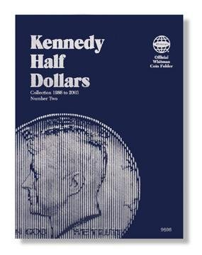 #9698 Whitman Folder for Kennedy Half Dollars 1986-2003