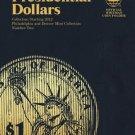 #2276 Whitman Folder for Presidential Dollars 2012-2016 (P&D Set)