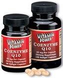 Coenzyme Q10 Softgels - 30 mg    100 Softgel Capsules    1222R