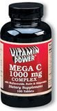 Mega C 1000 mg Complex Tablets    250 Tablets    1072U