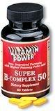B-Complex 50    250 Tablets    1036U