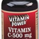 Vitamin C 500 mg Tablets    250 Tablets    175U
