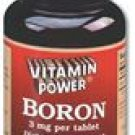 Boron 3 mg Tablets    100 Tablets    4051R