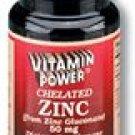 Chelated Zinc 50 mg    500 Tablets    1029V