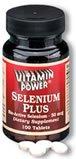 Selenium 50 mcg    500 Tablets    1023V