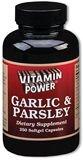 Garlic and Parsley Softgels    250 Softgel Capsules    1066U