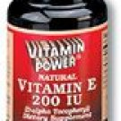 Natural Vitamin E 200 IU Softgels    500 Softgel Capsules    502V