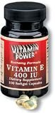 Vitamin E 400 IU Softgels    250 Softgel Capsules    338U