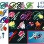 Machine Embroidery Design ALPHABET W/ ROSES