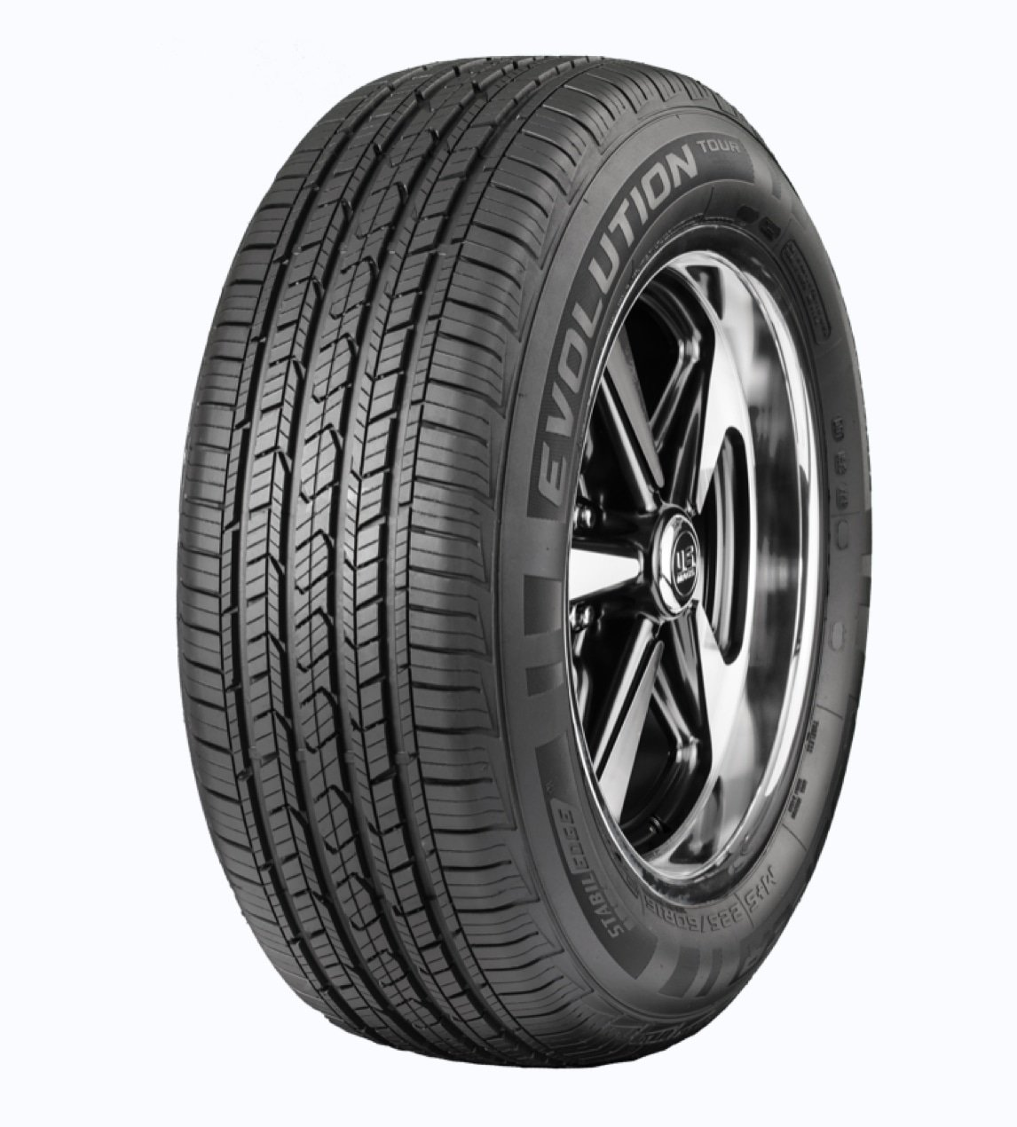 Set of 2 Cooper Evolution Tour 225/50R17 94T tires  BRAND NEW