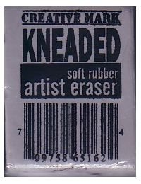 Kneaded Eraser - large, blends & erases