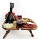 table for serving beer or wine / tray / snack table / table for treat / table for yummy / handmade