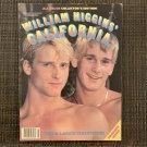 "WILLIAM HIGGINS CALIFORNIA #1 1983 ""Leo & Lance"" Gay Jocks Porn Magazine Chicken"