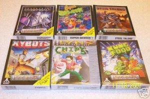 6 New Unopened Atari Lynx Games