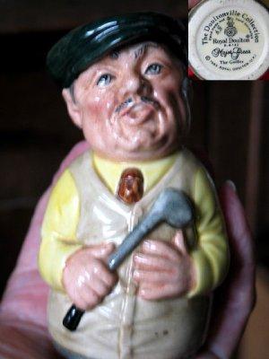 Royal Doulton Jug Major Green, the Golfer
