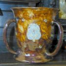 Dramatic Royal Doulton Art Nouveau Style Loving Cup