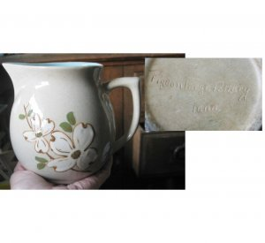 RARE GLAZED Pigeon Forge Tennessee Pitcher