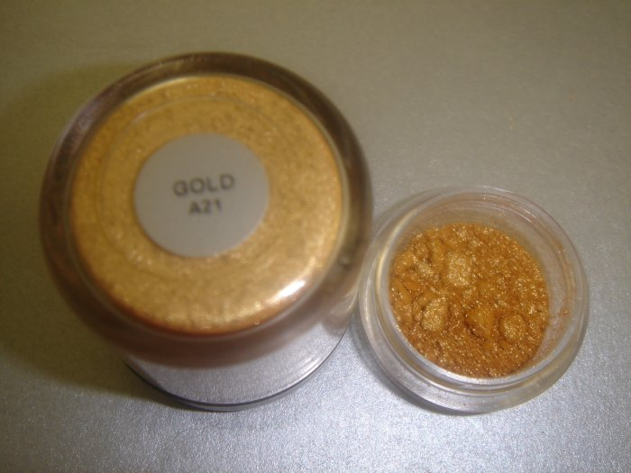 "MAC Pigment Samples Original ""Gold""  ~RARE/LE~"