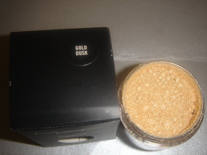 "MAC Pigment Samples ""Gold Dusk"" ~RARE/LE~"