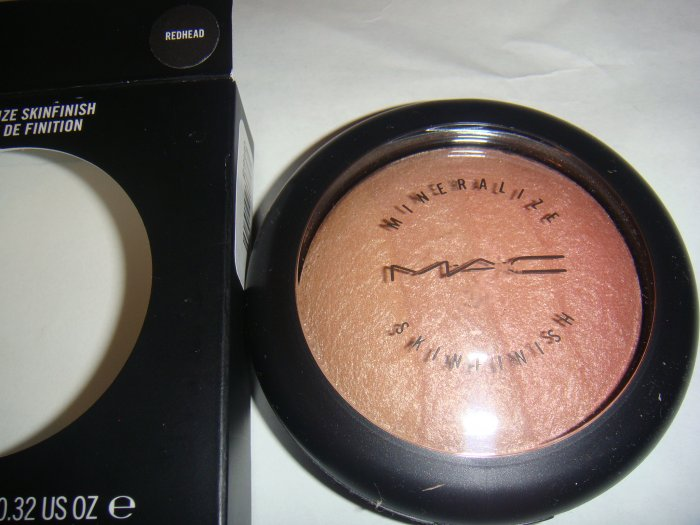 "MAC Mineralized Skin Finish ""REDHEAD""  Discontinued BN"