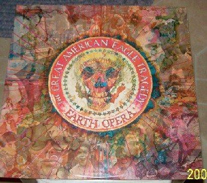 EARTH OPERA Great American Eagle Tragedy 1969 Elektra Vintage Vinyl Record    NM