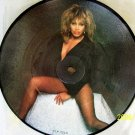TINA TURNER Vinyl Record Picture Disc 45  HELP ROCK N ROLL WIDOW