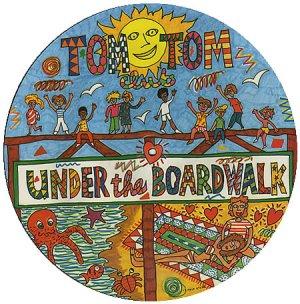 "TOM TOM CLUB- Under the Boardwalk  Vintage Vinyl Picture Disc 12"" MINT"