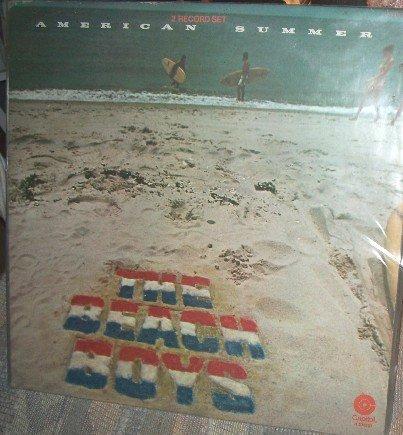 BEACH BOYS American Summer  Vinyl LP 1975