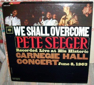 PETE SEEGER at Carnegie Hall MONO Vintage vinyl LP