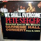 PETE SEEGER at Carnegie Hall MONO Vintage vinyl LP