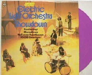 Electric Light Orchestra SHOWDOWN Rare Limited Edition Lilac Vintage Vinyl Record 1973 Holland