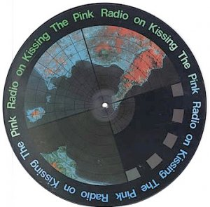 """Kissing The Pink  Rare Vinyl Record Picture Disc 12""""   Radio ON 1984 MINT"""